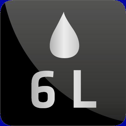 Water besparende perlator, 6/min