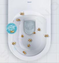 Duravit DuraStyle Basic - Wand-Klosett für Kinder, Rimeless, mit HygieneGlaze, Alpinweiß 2574092000