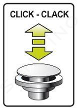 Ideal Standard Alpha - Umývadlová batéria s výpusťou Click-Clack, chróm BC814AA