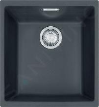 Franke Sirius - Tectonitový drez SID 110-34, 365x440 mm, čierna 125.0363.785IIJ1