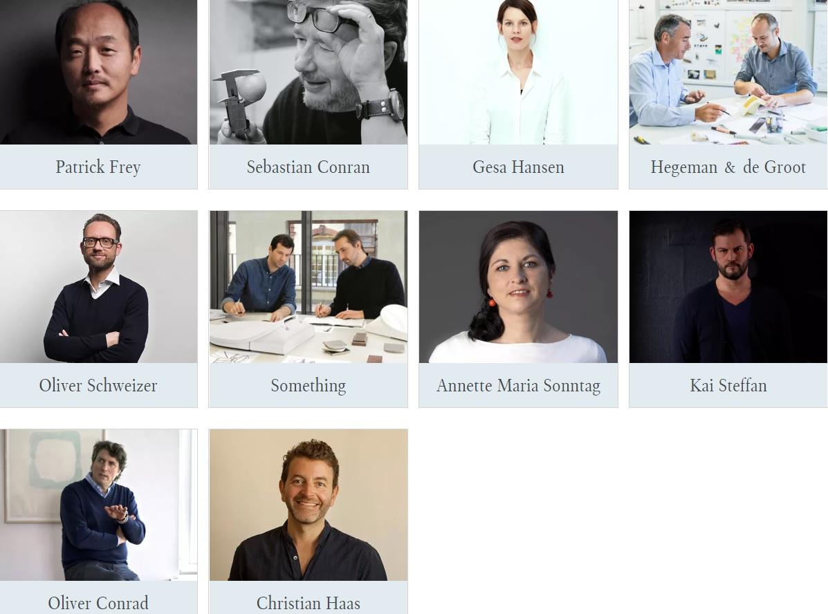 designers Villeroy & Boch