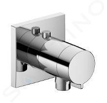 Keuco IXMO - SOLO inbouw thermostatische douchekraan incl. inbouwdeel, chroom 59554010022