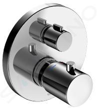 Keuco Edition 400 - Unterputz-Thermostat-Armatur, Absperr- und Umstellventil, Chrom 51574010181