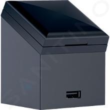 Geberit Toebehoren - Stopcontactelement met USB-aansluiting, antraciet 501030000