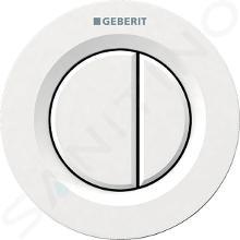Geberit Splachovací systémy - Oddálené ovládání typ 01, pneumatické, pro 2 množství splachování, alpská bílá 116.042.11.1