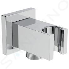 Ideal Standard Idealrain Atelier - Wandaansluitbocht met houder, chroom BC771AA