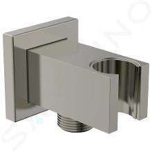 Ideal Standard Idealrain Atelier - Wandaansluitbocht met houder, Silver Storm BC771GN