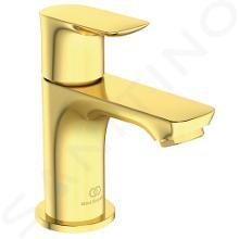 Ideal Standard Connect Air - Umývadlový ventil, Brushed Gold A7031A2