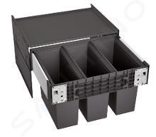Blanco Select - Inbouw afvalemmer, met scheidingswand, 45 l 526204