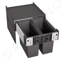 Blanco Select - Inbouw afvalemmer, met scheidingswand, inhoud 32 l 526200