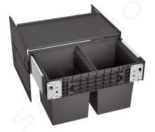 Blanco Select - Inbouw afvalemmer, met scheidingswand, inhoud 34 l 526207