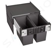 Blanco Select - Vstavaný odpadkový kôš, delený, objem 38 l 526201