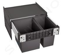 Blanco Select - Vstavaný odpadkový kôš, delený, objem 49 l 526203