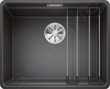 Blanco Etagon 500 - Silgranitspüle, 527x427 mm, mit Schienen, Anthrazit 526343