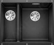 Blanco Subline 340/160 - Silgranit spoelbak, 555x460 mm, spoelbak rechts, antraciet 523558