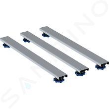 Geberit Príslušenstvo - Súprava na hrubú montáž 800 mm, výška 6-12 cm, pre vaničky do 1400 mm 554.961.00.1