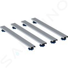 Geberit Príslušenstvo - Súprava na hrubú montáž 800 mm, výška 6-12 cm, pre vaničky do 1400 mm 554.962.00.1