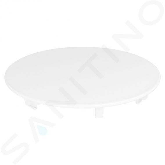 Kaldewei Příslušenství - Kulatá krytka odtoku KA 90 pro vaničky, smalt, bílá 687772590001