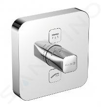 Kludi Push - Baterie pod omítku pro 2 spotřebiče, chrom 387110538