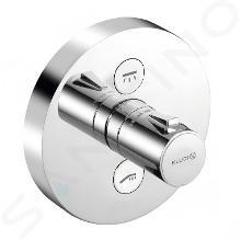 Kludi Push - Termostatická sprchová baterie pod omítku, 2 výstupy, chrom 389120538