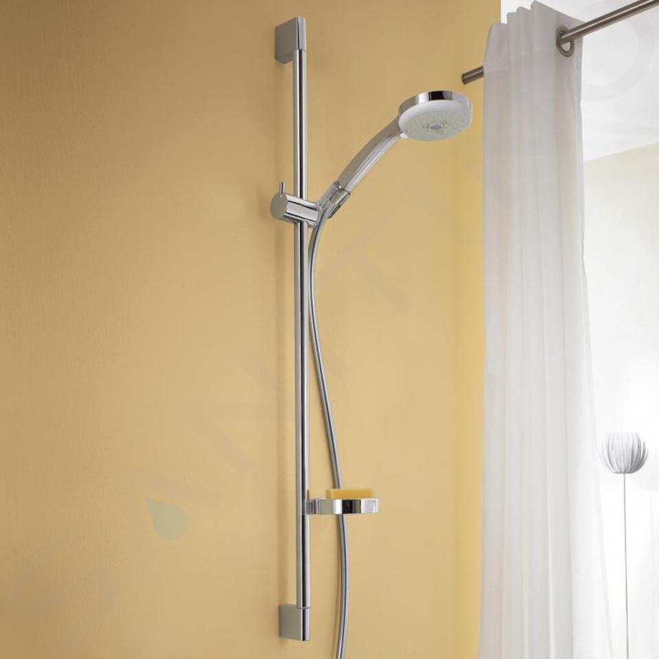 Hansgrohe Croma 100 - Sprchový set s termostatem, 3 proudy, tyč 900 mm, chrom 27085000