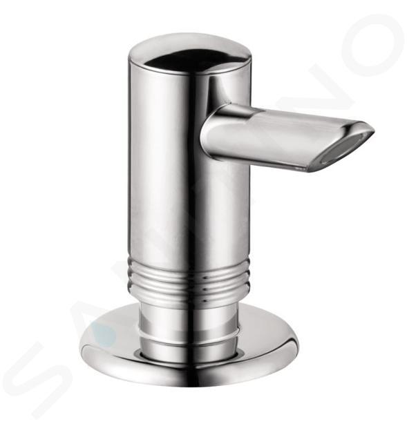 Hansgrohe Příslušenství - Dávkovač mýdla/mycího prostředku, chrom 40418000