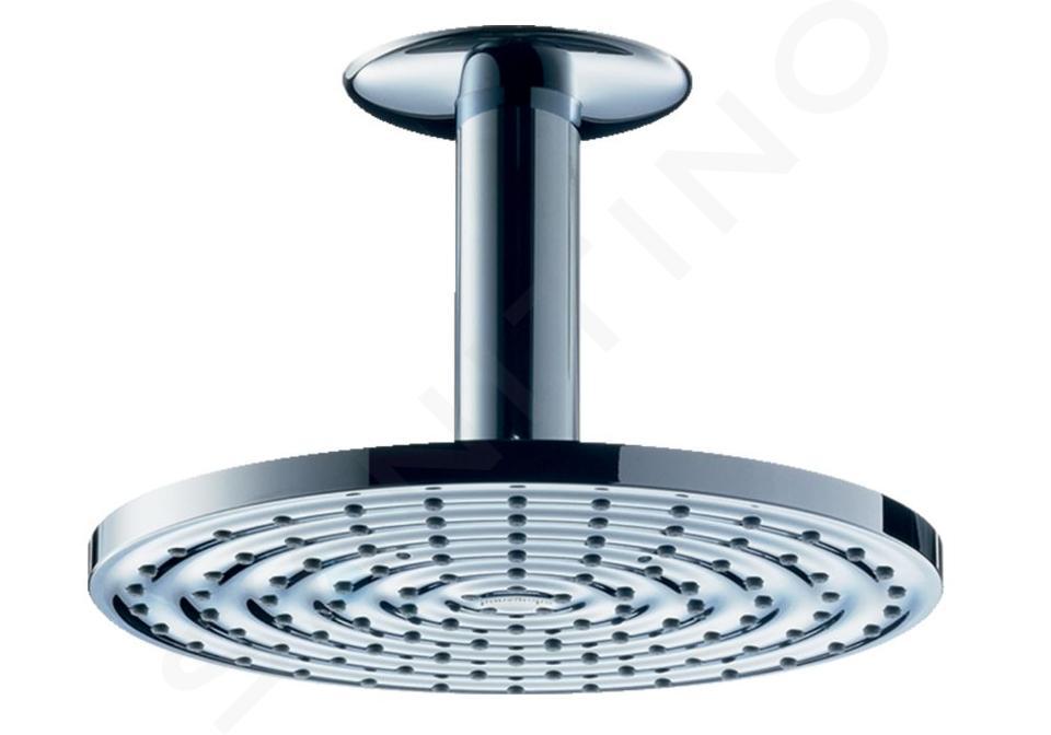 Hansgrohe Raindance - Horná sprcha S 180 1jet s prívodom od stropu 100 mm, chróm 27472000