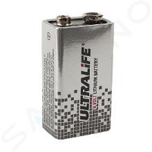 Sanela Príslušenstvo - Napájacia lítiová batéria 9 V/1300 mAh, typ U9VL SLA 09
