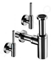 Schell Edition - Súprava designových rohových ventilov EDITION, chróm 053210699