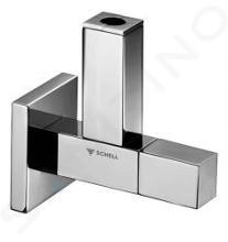 Schell Quad - Designový rohový ventil QUAD, chróm 053620699