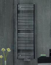 Zehnder Aura - Kúpeľňový radiátor 1469x600 mm, rovný, stredové pripojenie 50 mm, chróm PBCZ-150-060-05