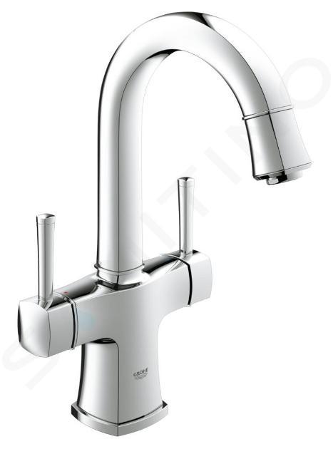 Grohe Grandera - Rubinetto a foro singolo per lavabo, cromato 21107000