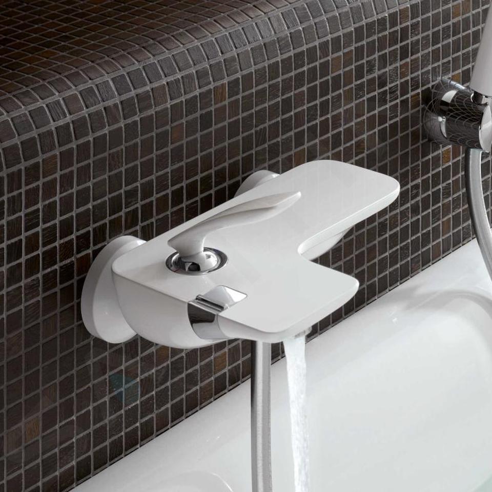 Kludi Balance - Badewanne Einhebelmischer, weiß / chrom 524459175