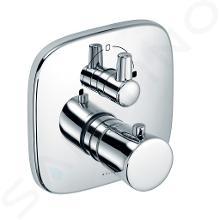 Kludi Amba - Miscelatore termostatico ad incasso per vasca da bagno, cromato 538300575