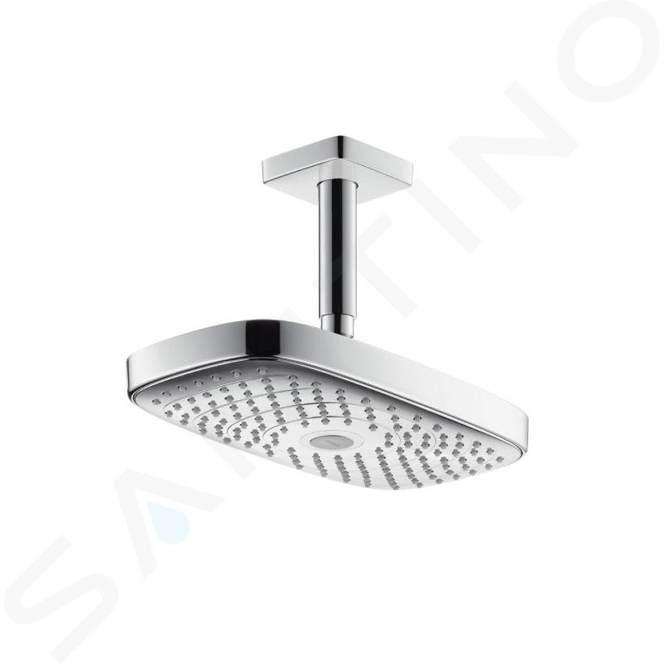 Hansgrohe Raindance Select E - Douche de tête 300, 2 jets, bras de douche 100 mm, chrome 27384000