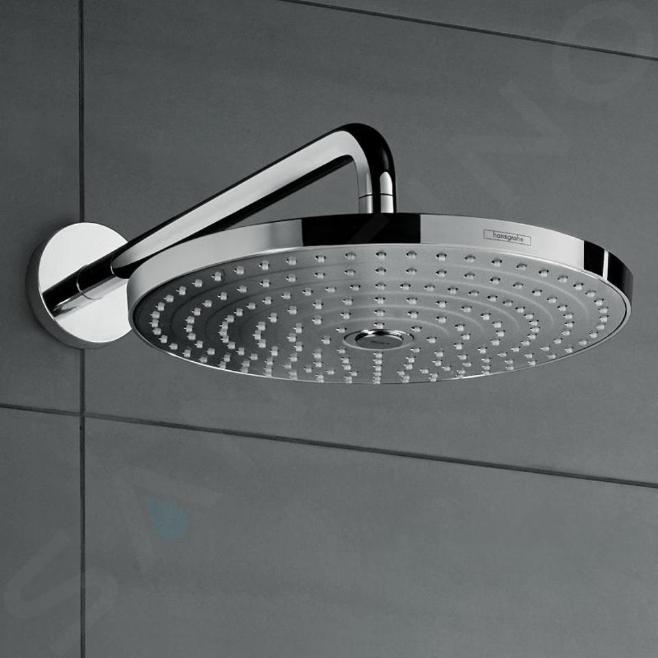 Hansgrohe Raindance Select S - Soffione doccia 300, 2 getti, braccio doccia 390 mm, cromato 27378000