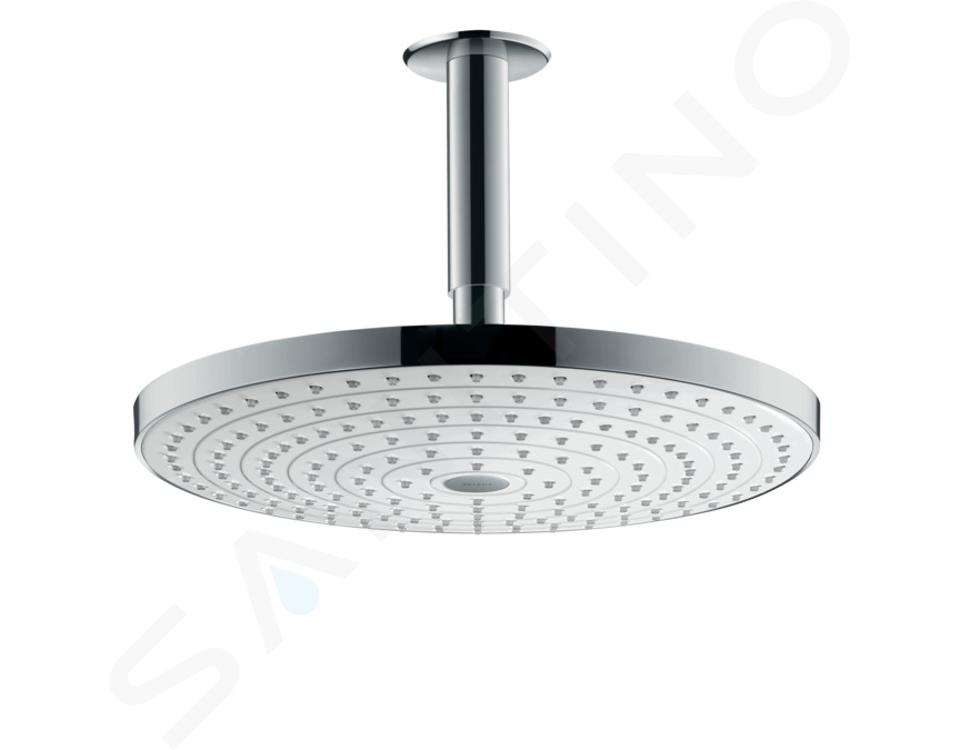 Hansgrohe Raindance Select S - Hoofddouche 300 mm, 2jet, douchearm 100 mm, wit/chroom 27337400