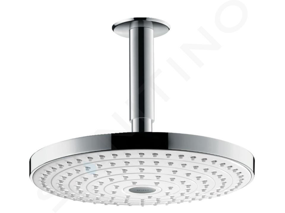 Hansgrohe Raindance Select S - Hoofddouche 240 mm 2jet, douchearm 100  mm, wit/chroom 26467400