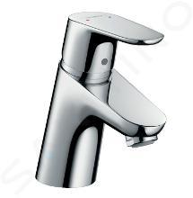 Hansgrohe Focus E2 - Miscelatore monocomando 70 per lavabo, con sistema di scarico Push-Open, cromato 31604000