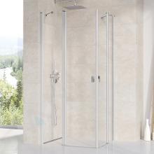 Ravak Chrome - Sprchové dveře CRV2-100, 980-1000 mm, satin/čiré sklo 1QVA0U00Z1