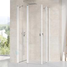 Ravak Chrome - Sprchové dveře CRV2-120, 1180-1200 mm, bílá/čiré sklo 1QVG0100Z1