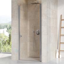 Ravak Chrome - Sprchové dvere jednodielne CSD1-90, 875–905 mm, lesklý hliník/číre sklo 0QV70C00Z1