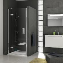Ravak SmartLine - Sprchové dvere dvojdielne SMSD2-120 B-L, 1199-1216 mm, ľavé, chróm, sklo transparent 0SLGBA00Z1