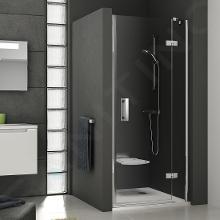 Ravak SmartLine - Sprchové dvere dvojdielne SMSD2-120 B-R, 1199-1216 mm, pravé, chróm, sklo transparent 0SPGBA00Z1