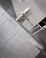 Ravak Zebra - Odtokový s sprchový žľab s nerezovým roštom, 750 mm X01433