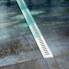 Ravak Zebra - Odtokový sprchový žlab s nerezovým roštem, 850 mm X01434