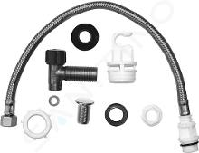 Duravit Accessoires - Kit de fixation, chrome 0075041000