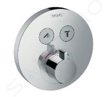 Hansgrohe Shower Select - Termostatická batéria pod omietku na 2 spotrebiče, chróm 15743000