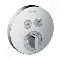 Hansgrohe Shower Select - Batéria pod omietku na 2 spotrebiče, chróm 15748000