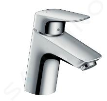 Hansgrohe Logis - Mitigeur de lavabo 70 avec garniture de vidage, chrome 71070000